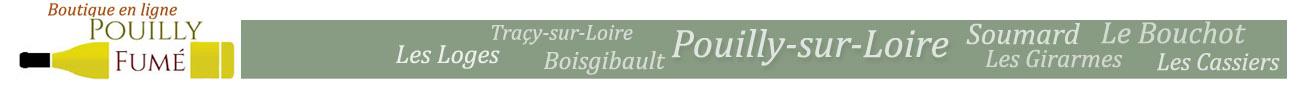Boutique en ligne Pouilly-Fumé